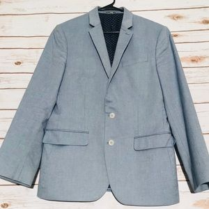 Men's Express Photographer Fitted Suit Blazer
